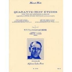 Mule 48 études d'après Ferling saxophone
