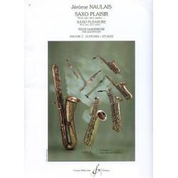 Naulais saxo plaisir vol 2 avec CD