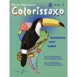 Colorissaxo vol 1 avec CD Olivier Ombredane