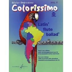 Colorissimo vol 1 Ombredane avec CD