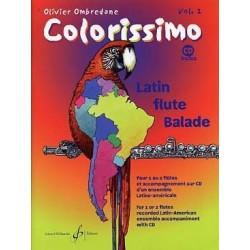 Colorissimo vol 2 Ombredane avec CD