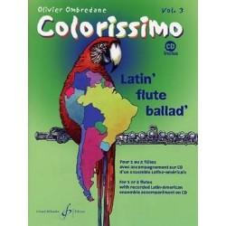 Colorissimo flûte vol 3 Ombredane avec CD