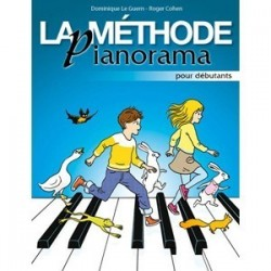 Méthode pianorama débutants avec CD