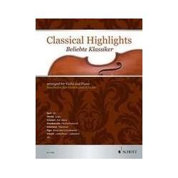Classical Highlights violon piano