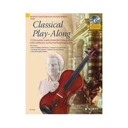 Classical play-along violon avec CD