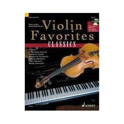 Violin favorite classics avec CD
