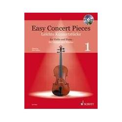 Easy concert pieces VOL 1 violon piano avec CD