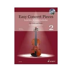 Easy concert pieces VOL 2 violon piano avec CD