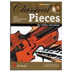 Classical pieces violon et piano position 1