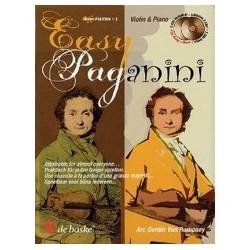 Easy paganini violon piano avec 2 CD