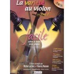 La variété au violon vol1 avec CD