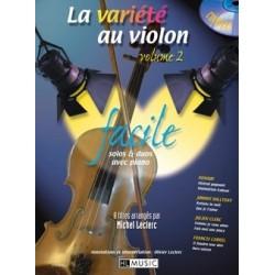 La variété au violon vol 2 avec CD