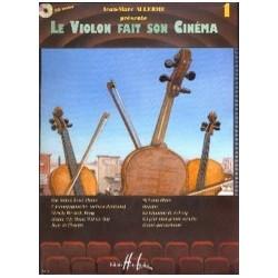 Le violon fait son cinéma vol 1 Allerme violon piano avec CD