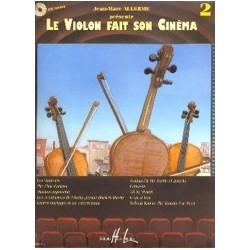 Le violon fait son cinéma vol 2 Allerme violon piano avec CD