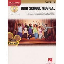 high school musical violin play-along avec CD