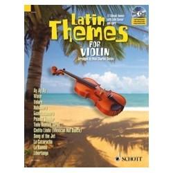 Latin themes for violin avec CD