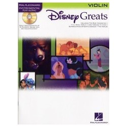Disney greats violin avec CD