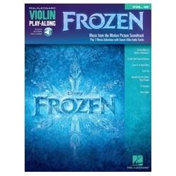 FROZEN violin vol 48 play-along à télécharger