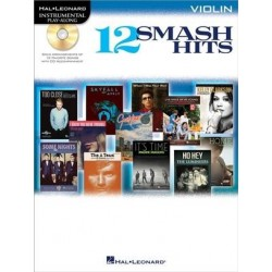 12 Smash hits - Instrumental play-along avec CD