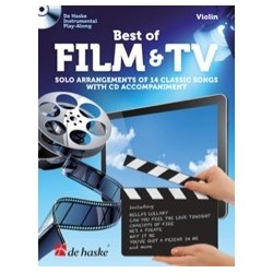 Best film and TV violin play-along avec CD