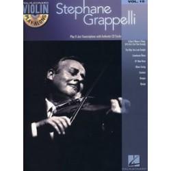 VIOLIN PLAY ALONG VOL.15 GRAPPELLI STEPHANE CD