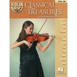 VIOLIN PLAY ALONG VOL28 classical treasures CD