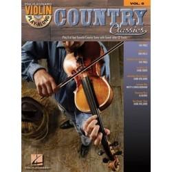 Violon Play-Along Volume 8 - Country Classics avec CD