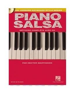 Piano salsa MARTIGNON CD en français
