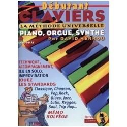 Débutant claviers David/Rébillard avec CD