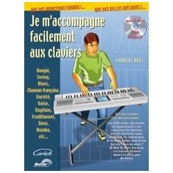Je m'accompagne facilement aux claviers Huet avec CD