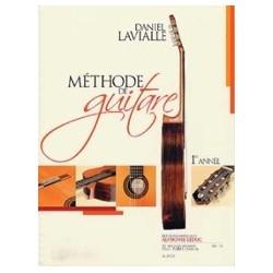 Méthode de guitare Daniel LAVIALLE 1ère année