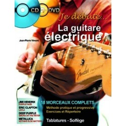 Je débute la guitare électrique Vimont CD et DVD