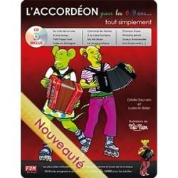 L'accordéon pour 6/9 ans tout simplement avec CD