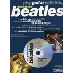 BEATLES PLAY GUITAR WITH BEST OF TAB 2 CD