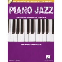 Piano Jazz Hal Leonard avec CD en français