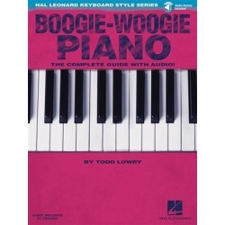Boogie-Woogie piano - Le guide complet avec CD