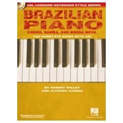 Brazilian piano avec CD