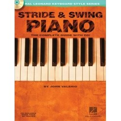Stride and swing piano avec CD