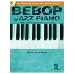Bebop piano jazz avec CD