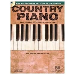 Country Piano avec CD