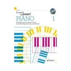 A vous de jouer piano vol 1 HEUMANN avec CD