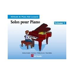 Solos pour piano Hal Leonard vol 1 CD inclus
