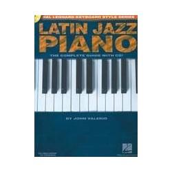 latin jazz piano John Valerio avec CD