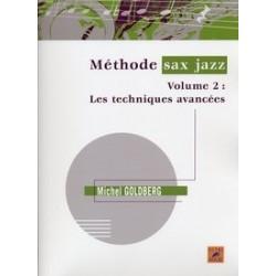 Méthode de jazz Michel GOLDBERG vol 2 (nouvelle édition)