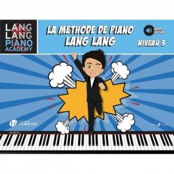 LANG LANG METHODE DE PIANO NIVEAU 3