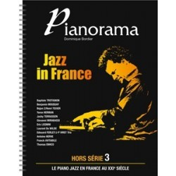 """PIANORAMA """"hors série 3"""" jAZZ IN FRANCE D. BORDIER"""