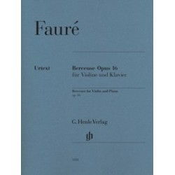 FAURE Gabriel Berceuse op. 16