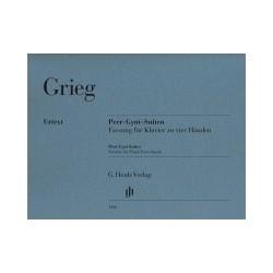 "GRIEG Edvard Suites ""Peer Gynt"" - piano à 4 mains"