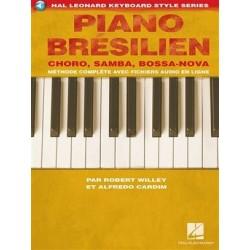 Piano brésilien avec fichiers audio