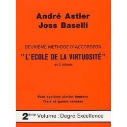 Deuxième méthode accordéon Astier Baselli 2ème volume